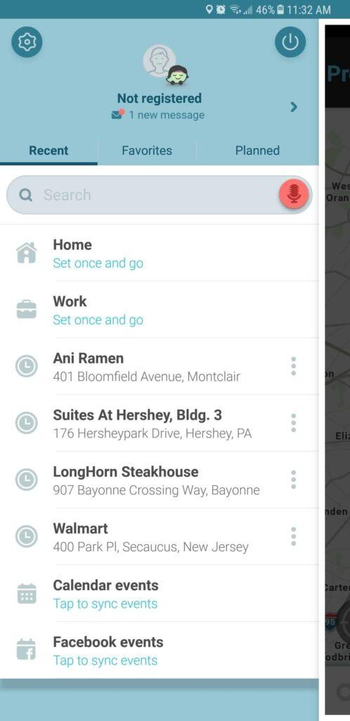 بخش dashboard در Waze raveshtech.ir روش دانلود نقشه راه ها برای استفاده آفلاین ویز Waze