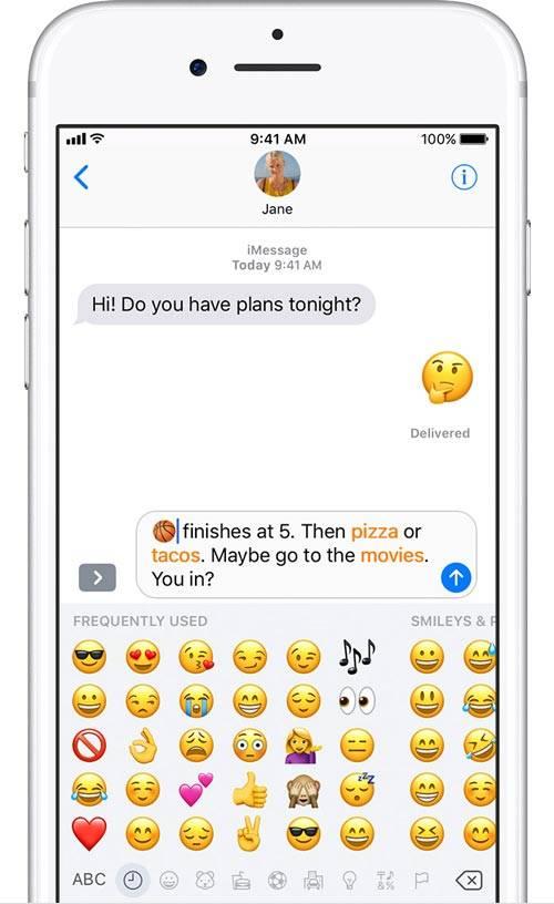 روش رفع باگ ایموجی در بخش MESSAGE آیفون iOS 11