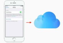 روش انتقال داده و اطلاعات آیفون به آیفون با iCloud