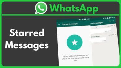 روش دیدن همه پیام های ستاره دار در WhatsApp اندروید, پیام های ستاره دار, همه پیام ها, پیام های ستاره دار واتساپ,واتساپ, starred messages,روشتک,raveshtech