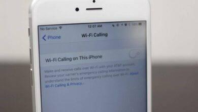 روش فعال کردن تماس وایفای یا Wi-Fi calling در آیفون