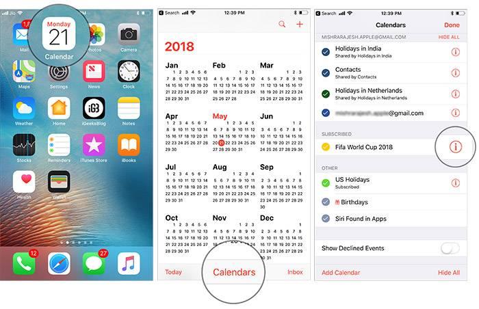 روش Customize کردن FiFA Calendar,روشتک,raveshtech