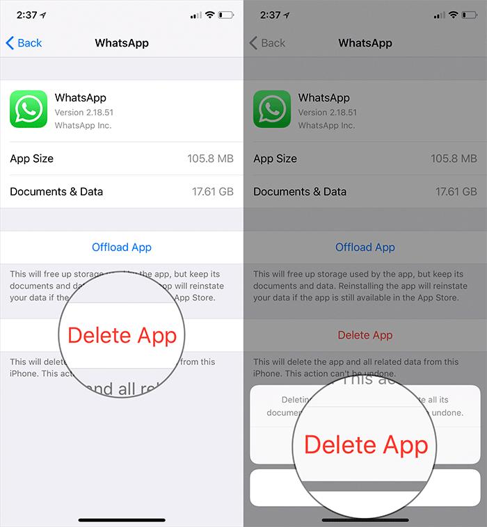 Delete App,روشتک,raveshtech