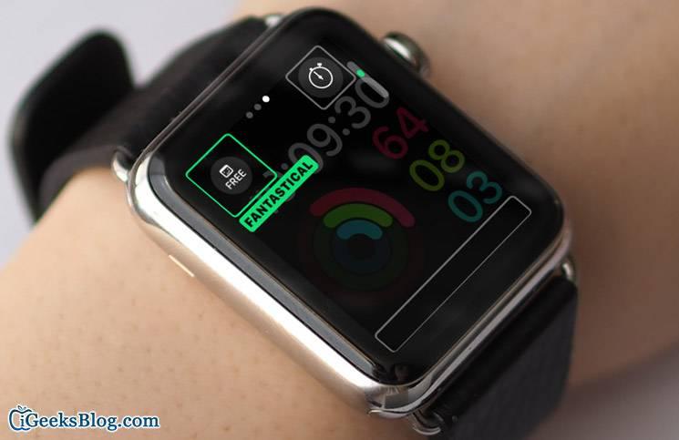 تصویر روش افزودن Complications به اپل واچ watchOS 3