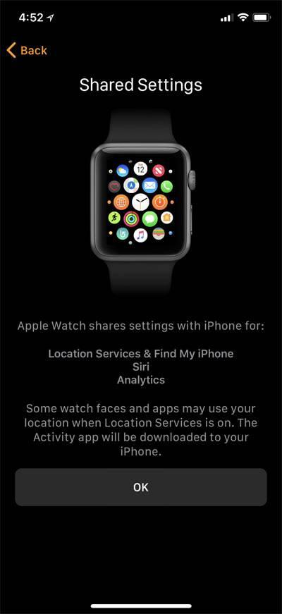 برای فعال کردن ابزار های Location services، Siri، route tracking و اشتراک اطلاعات تشخیصی، پیکره بندی را دنبال نمائید,روشتک,raveshtech