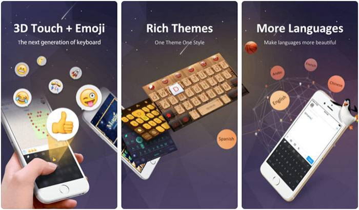 دانلود GO Keyboard,روشتک,raveshtech
