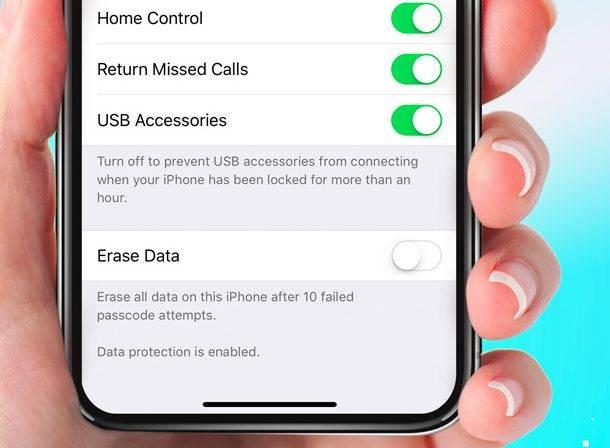 تصویر روش غیرفعال کردن USB Restricted Mode در iOS 12