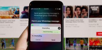 ارسال پیام های گروهی WhatsApp با Siri, واتساپ, دستیار هوشمند اپل, آیفون Siri, آیفون WhatsApp, آیون واتساپ, ارسال پیام با siri, فرستادن پیام با siri, فرستادن پیام های واتساپ با Siri, روشتک, Raveshtech, فعال کردن دسترسی Whatsapp به Siri