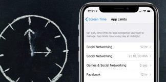 محدود سازی گروهی برنامه ها در Screen Time آیفون,screen time, آیفون screen time, screen time ios 12, محدود سازی استفاده از برنامه ها در آیفون, کنترل استفاده بچه ها از آیفون, کنترل استفاده از برنامه ها,کنترل استفاده از اپلیکیشن,روشتک,raveshtech