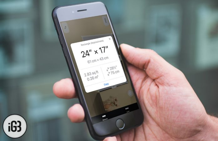 روش اندازه گیری با ARKit Measure در آیفون iOS 12,اندازه گیری با ARKit Measure در آیفون iOS 12, اندازه گیری فواصل با آیفون, اندازه گیری ابعاد با آیفون, اندازه گیری با گوشی, اندازه گیری دو نقطه با آیفون, اندازه گیری با آیفون, آیفون measure, اندازه گیری در ios 12, برنامه measure,دانلود measure, روشتک,raveshtech