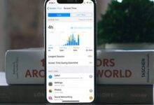 روش فعال کردن Screen Time در آیفون iOS 12, فعال کردن Screen Time در آیفون iOS 12, آیفون screen time, ios 12 screen time, فعال کردن Screen Time, رمزگذاری screen time, روشتک,raveshtech, آیفون