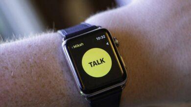 استفاده از Walkie-Talkie در اپل واچ watchOS 5, فرستادن پیام با Walkie-Talkie در اپل واچ,وضعیت آنلاین و آفلاین Walkie-Talkie در اپل واچ,روش مدیریت مخاطبین Walkie-Talkie در آیفون, Walkie-Talkie اپل واچ,اپل واچ Walkie-Talkie, واکی تاکی اپل واچ, اپل واچ واکی تاکی, watchos 5, روشتک,raveshtech, آیفون Walkie-Talkie, آیفون Walkie-Talkie, برنامه Walkie-Talkie, اپلیکیشن Walkie-Talkie
