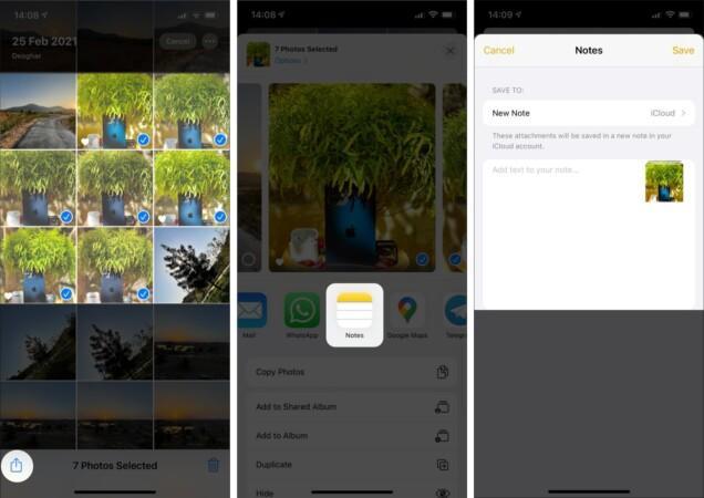 پنهان کردن عکس های و برنامه ها با برنامه Note آیفون و آیپد