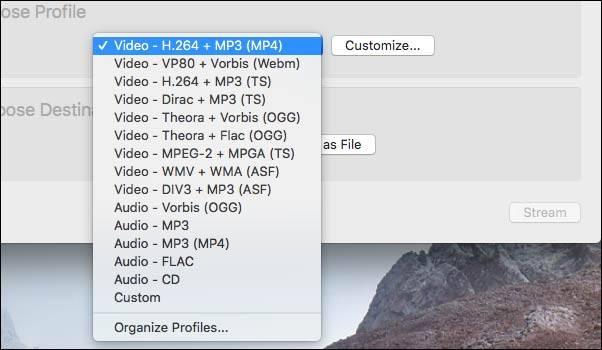 تبدیل MKV به MP4 در نرم افزار پخش VLC,روشتک,raveshtech