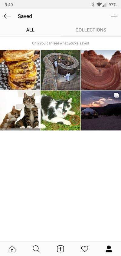 چگونه پستهای ذخیره شده در بخش Saved اینستاگرام را ببینیم,روشتک,raveshtech
