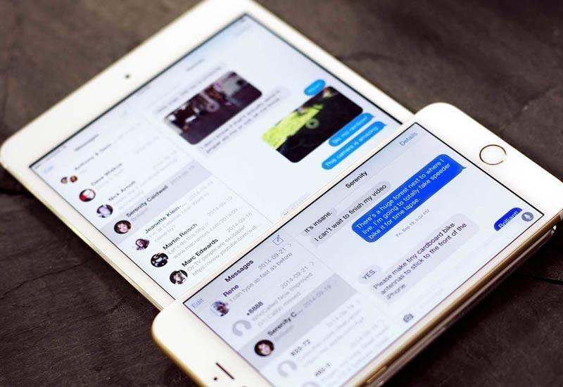Photo of روش ارسال و دریافت SMS در آیپد