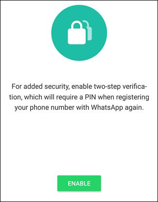 پس از اینکه وارد اپلیکیشن WhatsApp شدید نفراموشید که شما two-step verification یا تائید صحت دو مرحله ای را خاموش کرده اید و از اینرو امنیت و ارمندی اکانت خود را پائین آورده اید.,روشتک,raveshtech