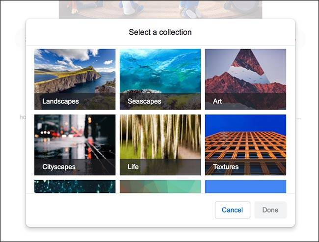 گوگل در چندین دسته بندی، شماری از عکس های پس زمینه را به شما پیشنهاد می دهد, روشتک,raveshtech