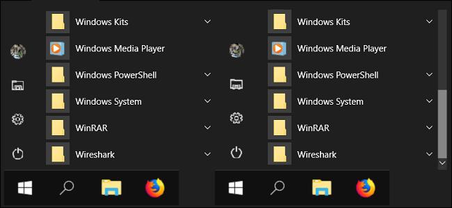 روش نمایان کردن Scroll bars در ویندوز 10, نمایان کردن Scroll bars در ویندوز 10,نمایان کردن نوار پیمایش در ویندوز 10,Automatically Hide Scroll Bars In Windows, Ease of Acces, مرئی کردن اسکرول بار در ویندوز 10,مرئی کردن scroll bar در ویندوز 10, ویندوز 10, start menu, روشتک, raveshtech, ویندوز,windows