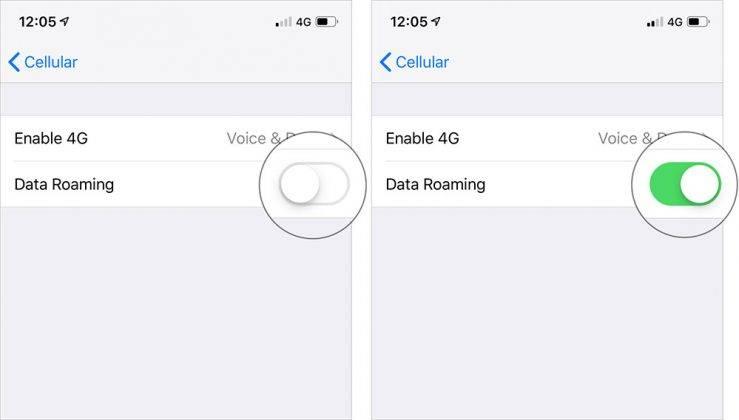 چگونه Data Roaming را در آیفون فعال کنیم؟,روشتک,raveshtech,اکنون Cellular Data/Mobile Data را بتپید.