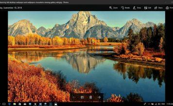 روش فعال کردن Dark Mode در برنامه Photos ویندوز 10, فعال کردن Dark Mode در برنامه Photos ویندوز 10, فعال کردن تم تاریک برنامه عکس های ویندوز, فعال کردن تم تاریک بخش Photos ویندوز, برنامه Photos ویندوز, اپلیکیشن Photos ویندوز 10, Windows 10 Photos app, Photos app Dark mode, روشتک, raveshtech, ویندوز 10, windows 10