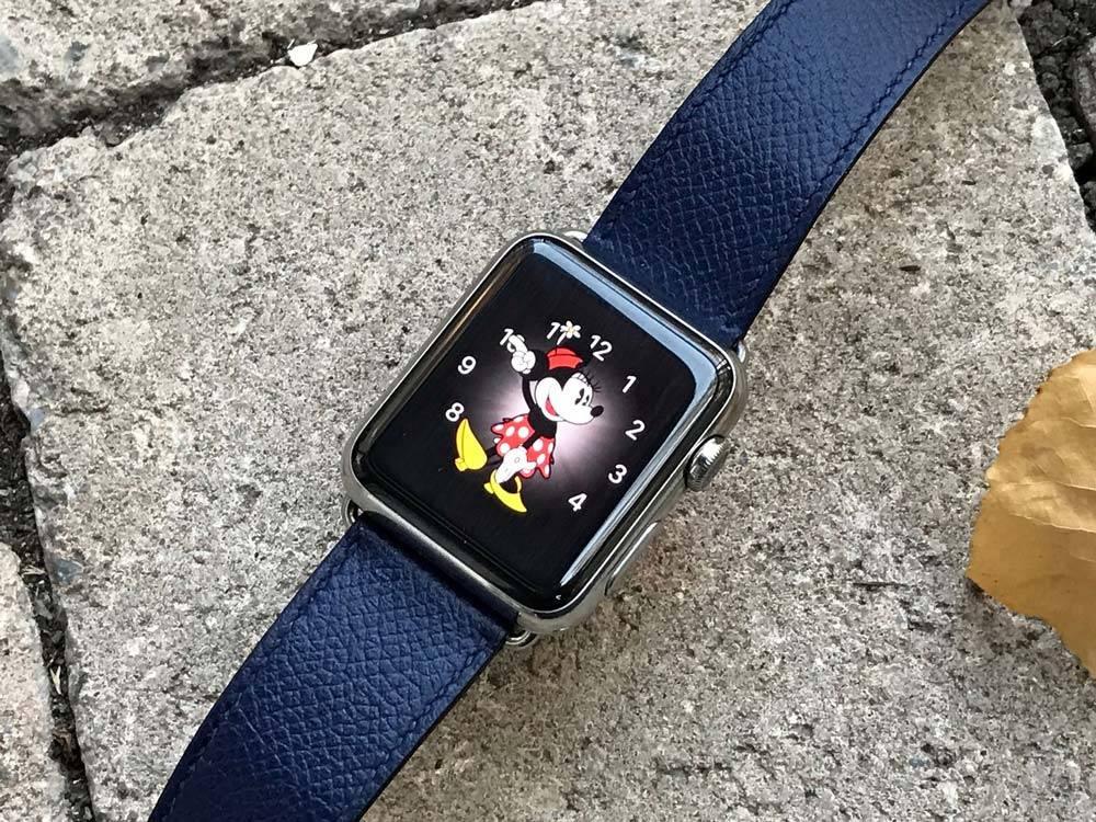 تصویر روش تغییر رنگ و استایل watch face اپل واچ