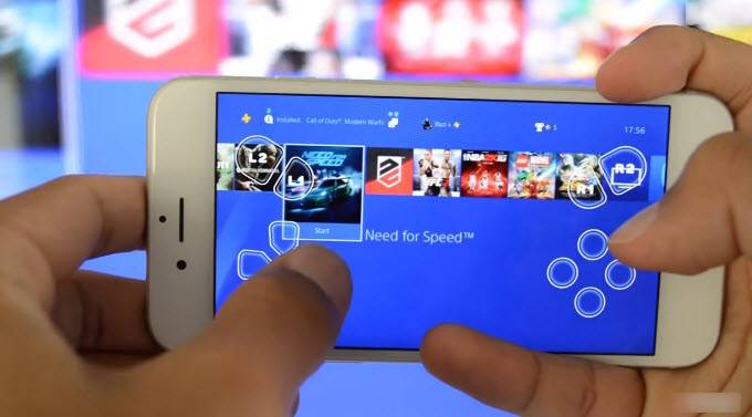 برای اینکه از آیفون خود، بعنوان دسته و کنترلر استفاده کنید، می توانید از عملگر Second Screen استفاده نمائید.,روشتک,raveshtech