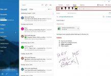 روش استفاده از Drawing Tools در بخش Mail ویندوز 10, استفاده از Drawing Tools در بخش Mail ویندوز 10, Drawing Tools در صندوق پستی ویندوز 10, Drawing Tools در Mail ویندوز 10, ابزار نقاشی در Mail ویندوز 10, ابزار Draw در Mail ویندوز 10, Mail ویندوز 10, روشتک, raveshtech, صندوق پستی ویندوز 10