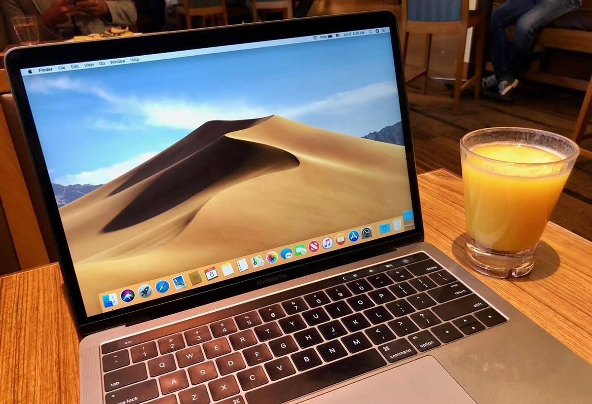 تصویر نصب macOS Mojave روی مک بصورت clean install