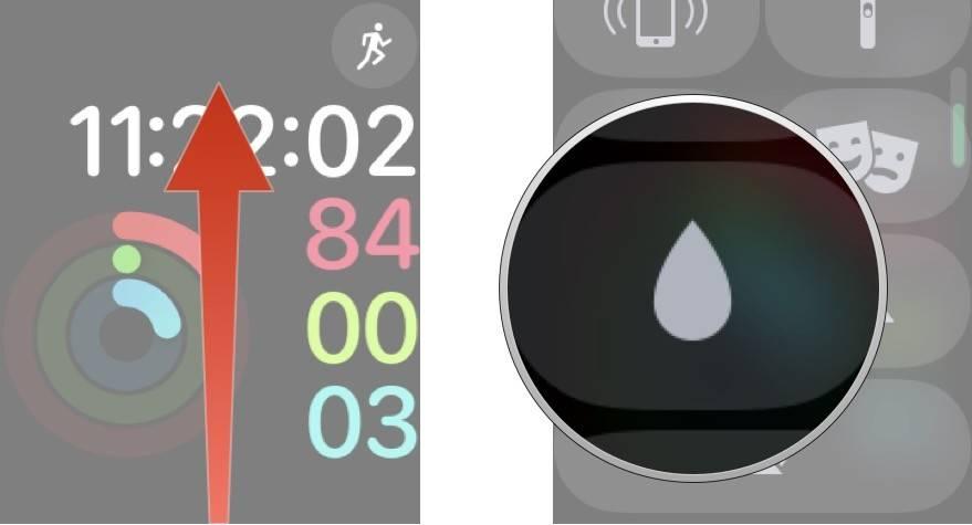 روش روشن کردن Water Lock یا قفل آب در اپل واچ WatchOS 5,روشتک,raveshtech