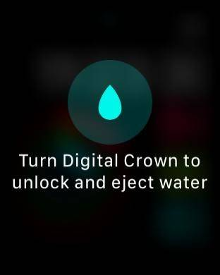 روش خاموش کردن Water Lock یا قفل آب در اپل واچ watchOS 5,روشتک,raveshtech