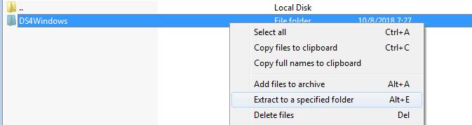روش دانلود، نصب و استفاده از برنامه DS4 Windows در رایانه,روشتک,raveshtech