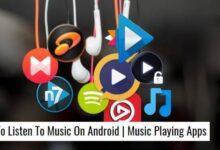 معرفی برنامه های پخش موسیقی اندروید, music player اندروید, برنامه های پخش موسیقی اندروید,روش پخش موسیقی در اندروید, Deezer,Blackplayer,spotify,Phonograph,Shuttle+ music player, روشتک,raveshtech, اندروید