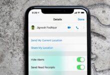 فعال کردن Hide Alerts در بخش Messages آیفون iOS 12, خاموش کردن اعلان ها در هنگام باز بودن پنجره گفتگو, روشتک, raveshtech, آیفون, iOS 12, فعال کردن Do Not Disturb در بخش پیام های آیفون, آیفون Hide Alerts, آموزش فناوری