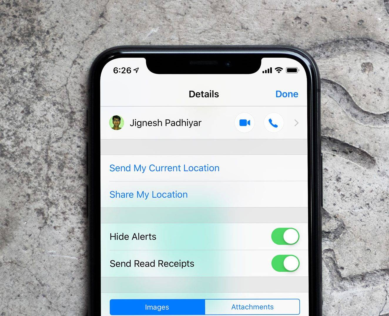 Photo of فعال کردن Hide Alerts در بخش Messages آیفون iOS 12