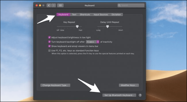 پیکره بندی تنظیمات Keyboard و Mouse.روشتک,raveshtech