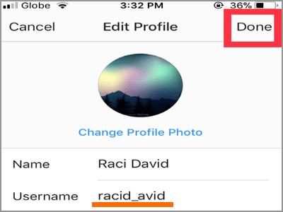 چگونه می توان نام کاربری یا username را در اینستاگرام تغییر دهیم,روشتک,raveshtech