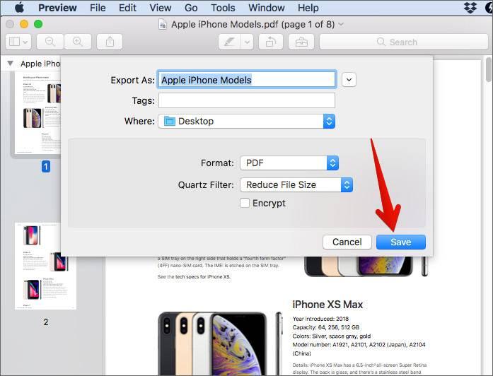 در فهرست نمایان شده، Reduce File Size را کلیکید,روشتک,raveshtech