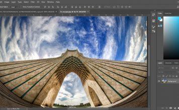 آشنایی با اندرگاه یا interface اصلی فوتوشاپ, اندرگاه فوتوشاپ, رابط کاربری photoshop, پالت های فوتوشاپ, بخش های فوتوشاپ, آشنایی با منو های Photoshop, منو های فوتوشاپ, روشتک,raveshtech, فوتوشاپ,photoshop cc