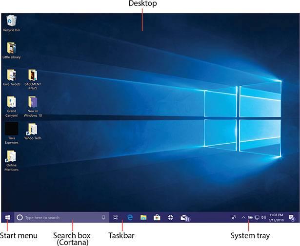 بخش Desktop ویندوز 10,روشتک,raveshtech