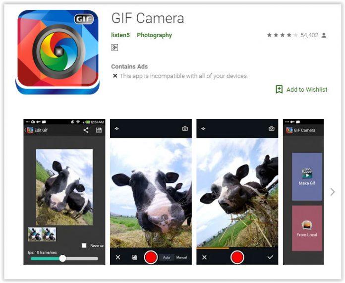 روش ساخت GIF در اندروید با برنامه Gif Camera, ساخت gif در اندروید, ایجاد gif در اندروید, تولید گیف تصویری در android, دانلود برنامه Gif Camera, دانلود Gif Camera, روشتک, raveshtech, فایل Gif, آموزش فناوری, آموزش ساخت فایل Gif