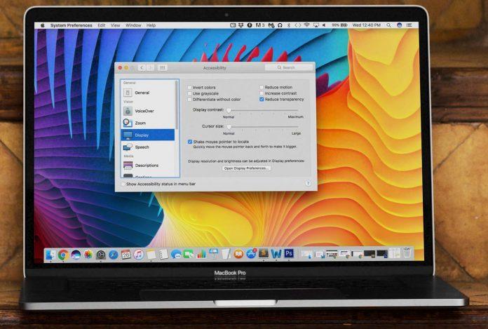 غیرفعال کردن افکت شفافیت در macOS Mojave, خاموش کردن افکت شفافیت در macOS Mojave, برداشتن Transparency Effects در مک, برداشتن Transparency Effects در mac,برداشتن Transparency Effects در macOS Mojave, روشتک, raveshtech, آموزش فناوری, آموزش مک, آموزش macOS Mojave