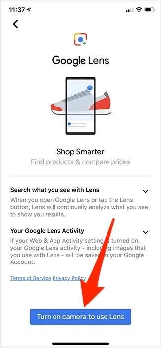 روش استفاده از ویژگی Google Lens در برنامه Google Search,روشتک,raveshtech