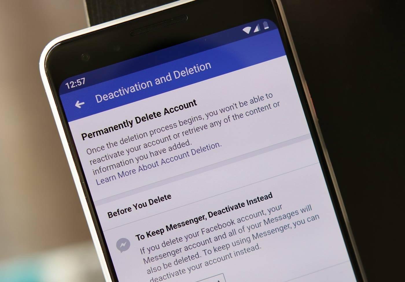Photo of روش حذف اکانت Facebook در اندروید