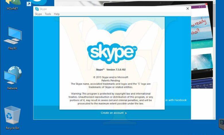 حذف آیکون اسکایپ از System Tray ویندوز 10, حذف آیکون اسکایپ از System Tray, پنهان کردن آیگون اعلان اسکایپ در ویندوز 10, اسکایپ ویندوز 10, آیکون notification اسکایپ در ویندوز 10, uninstall اسکایپ در ویندوز 10, sign out کردن اسکایپ در ویندوز 10,روشتک,raveshtech, آموزش ویندوز 10, آموزش اسکایپ, آموزش Skype, آموزش فناوری, آموزش تکنولوژی