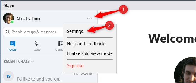 چگونگی روویدن (حذف) آیکون notification اسکایپ از بخش System Tray ویندوز 10,روشتک,raveshtech