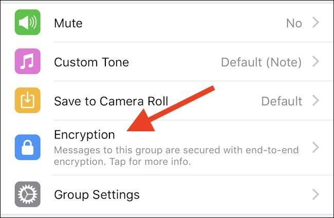 روش اطمینان از تائید رمزنگاری چت ها یا گپ ها در WhatsApp,روشتک,raveshtech