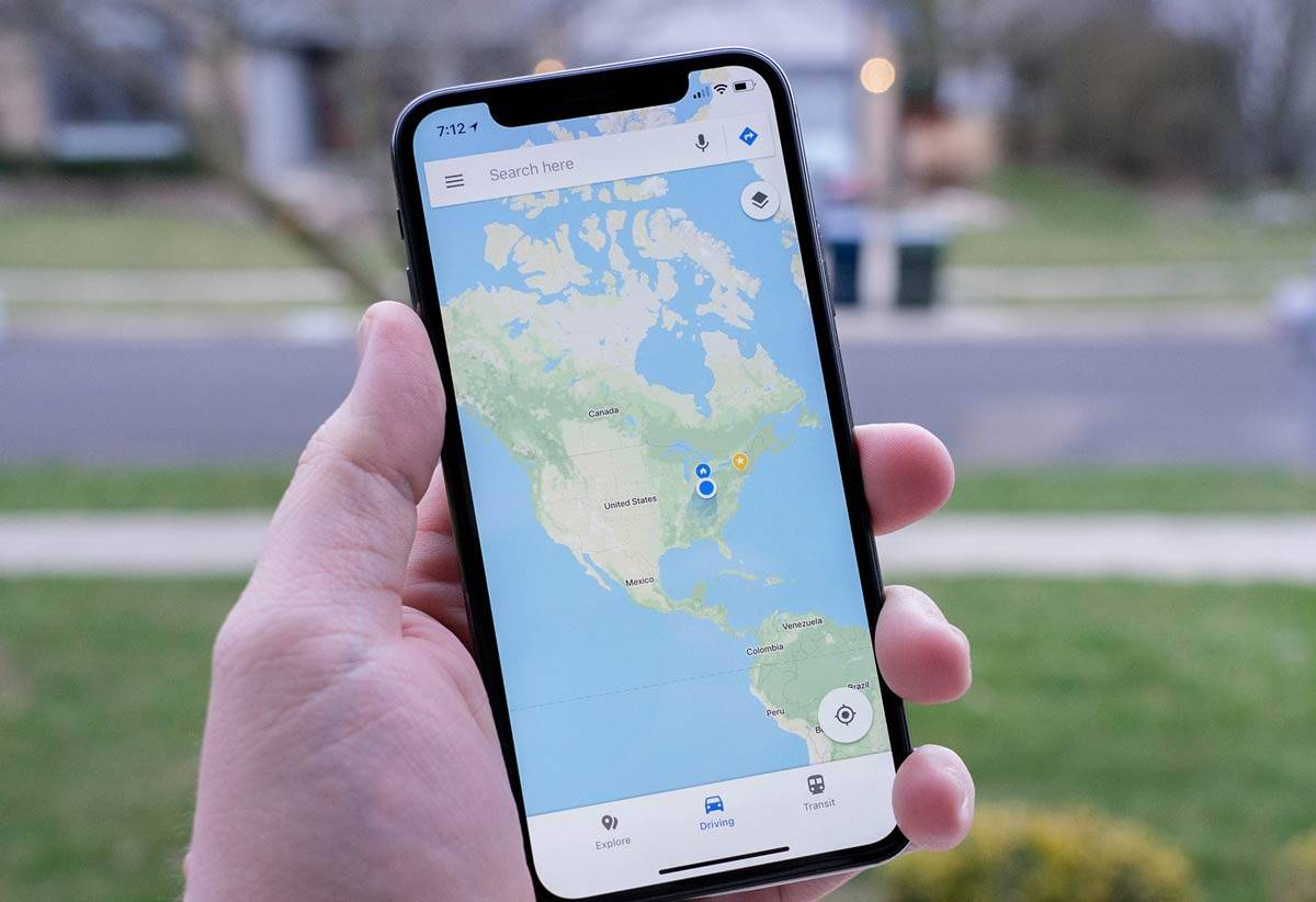 تصویر کنترل دسترسی برنامه های آیفون به موقعیت مکانی
