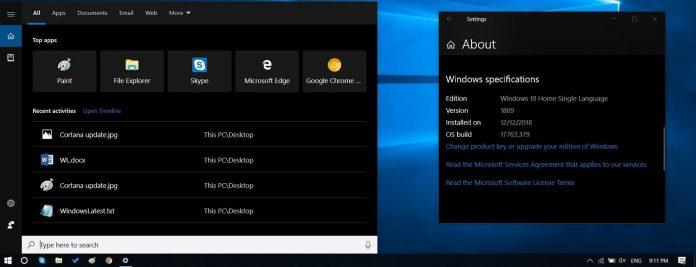رابط کاربری جدید Cortana در ویندوز 10