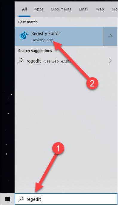 چگونه جستجوگر Bing را در منوی Start ویندوز 10 خاموش و غیرفعال کنیم؟